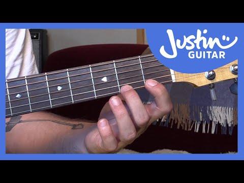 Guitar Technique: The Finger Gym - Strength Development - JustinGuitar - Guitar Lesson [TE-001]