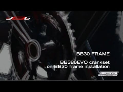 How To Install A BB386EVO Crankset On A BB30 Frame - FSA Road