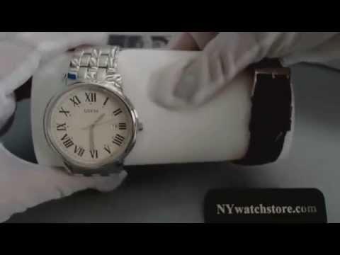 Men's Guess Interchangeable Wardrobe Watch Set U0384G1