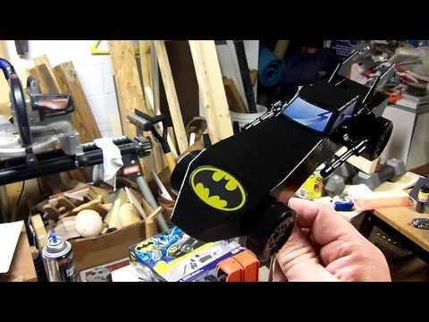 Batmobile Pinewood Derby Car Video 3