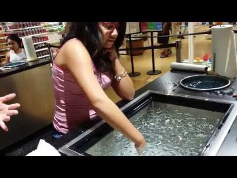 Wax Hand at Yankee Candle Village Part 1