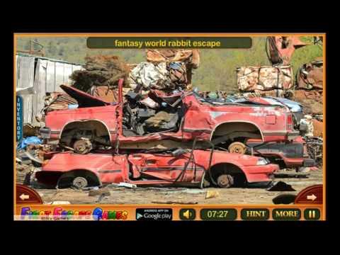 Car Junkyard Escape Walk Through - FirstEscapeGames