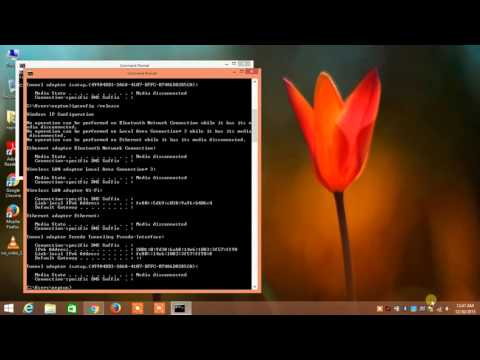 Ipconfig  Release and  Renew over CMD Command Prompt