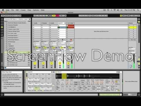 Jack Horner Making A Hip-Hop Beat Using Ableton Live 8 Tutorial