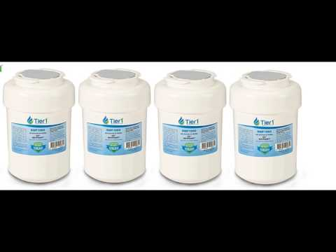 Tier1 MWF Replacement for GE MWF SmartWater MWFP GWF Refrigerator Water Filter 4 Pack