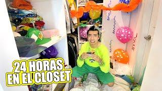 24 HORAS en el CLOSET (Me CORTO el Pelo, COCINO, Celebro mi CUMPLEAÑOS y Más) - Ami Rodriguez