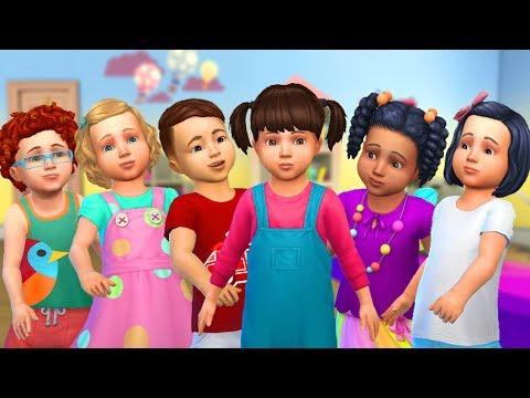 Câmera Sims -  TRAVESSURAS COM BEBÊS (The Sims 4)