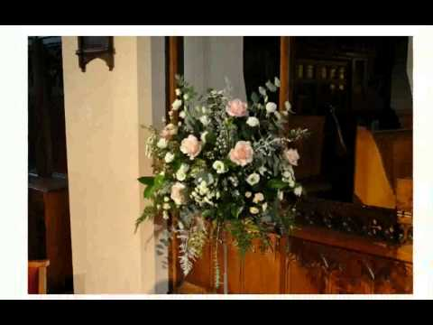 Flower Arrangement for Church