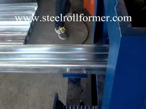 high speed hydraulic motor C purlin machine