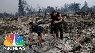 "Wildfires Sweep Through California ""Everything Is Gone"" 