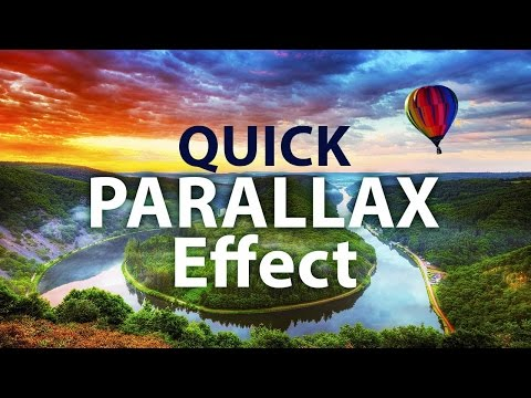 AEplus 014 - How To Make Parallax Photo Effect In After Effects. Quick 2D to 3D Conversion (2.5D)