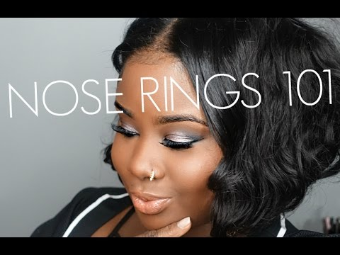 ♡ Nose Rings 101 Care + Jewelry