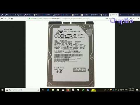 Is Your hard disk drive 100% genuine or fake? Warranty check online HITACHI 1TB 2.5 lAPTOP
