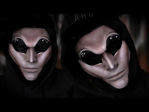 Simple Alien Halloween Makeup Tutorial