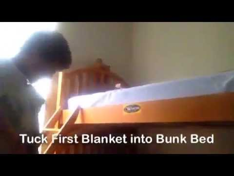 How to Make a Bunk Bed Fort