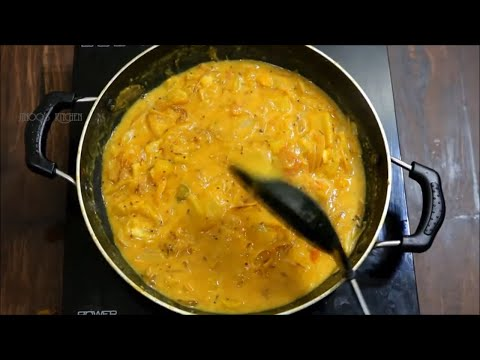 Kappa curry for chapathi | kerala style nadan Kappa curry | Tapioca curry for chapathi