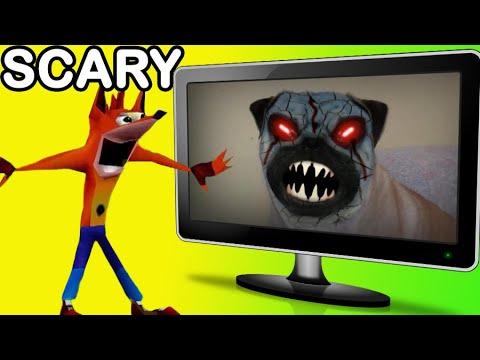 Woah! Crash Bandicoot reacts to my videos