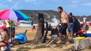 BIG WAVES AT VEGA.BAJA.BEACH P.R