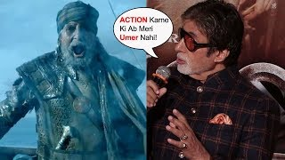 Amitabh Bachchan's FUNNY Reaction On Thugs Of Hindostan Action Scenes