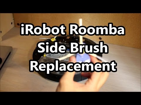 How to Replace a iRobot Roomba Side Brush Module For 500, 600, and 700 Series Robots