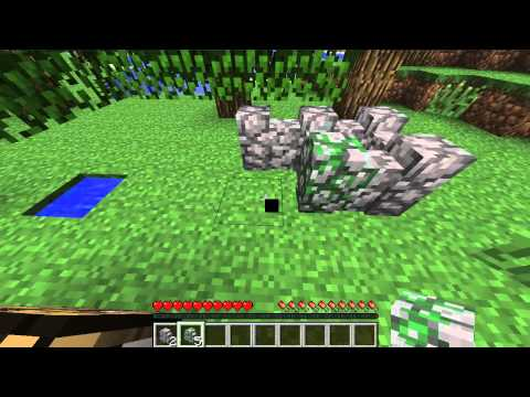 Minecraft : How to Craft Cobblestone Wall