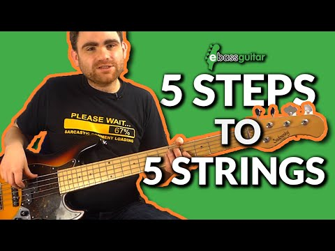 5 Steps to Getting Started With A 5 String Bass Guitar