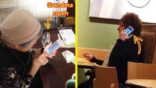 Older People Who Failed So Bad At Technology 😂👵🏻