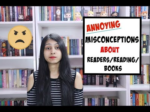 Myths/Misconceptions About Readers/Books/Reading ll Saumya's Bookstation
