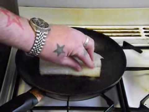 How To Cook Cod.Pan Fried Cod Fillet.