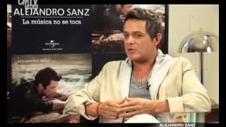 Alejandro Sanz explica como compone sus canciones