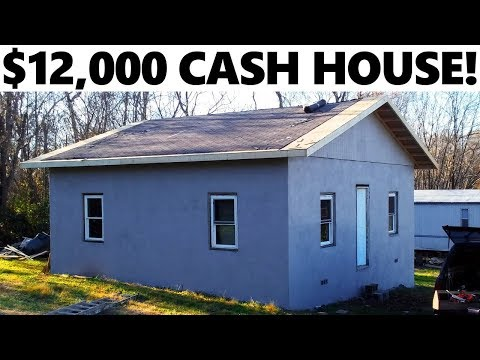 $12,000 Investment House! - Building Roof Overhangs - #22