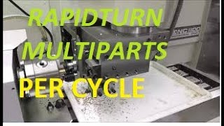 Tormach Rapidturn - Gang Production with Slotting - Vidly xyz