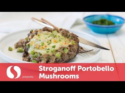 Stroganoff Portobello Mushrooms | New Year Recipes | Safeway