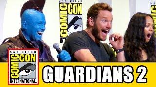 GUARDIANS OF THE GALAXY 2 Comic Con - Chris Pratt, Zoe Saldana, Karen Gillan, Dave Bautista