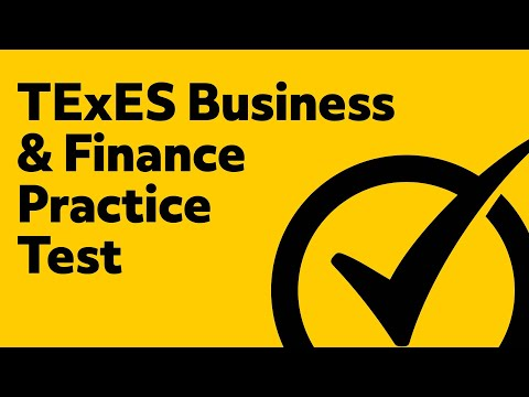 TExES Business and Finance Study Guide