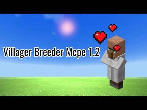 Villager Breeder In Mcpe 1.2