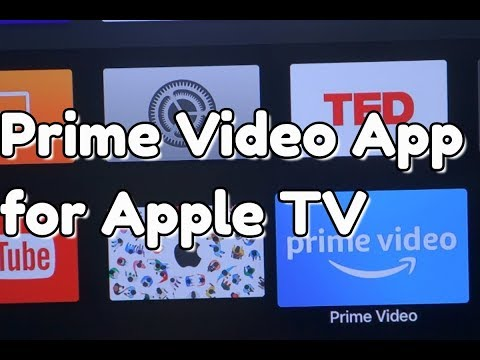 Download Amazon Prime Video App for Apple TV Now