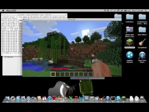 Mac - How To Make a Minecraft 1.3.1 Server Using Hamachi