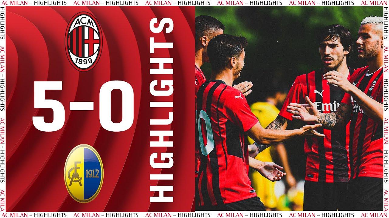 Highlights   AC Milan 5-0 Modena   Pre-season 2021/22