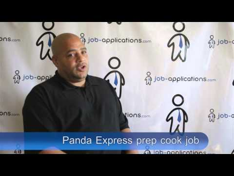 Panda Express Interview - Prep Cook