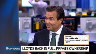 Lloyds CEO Says Still