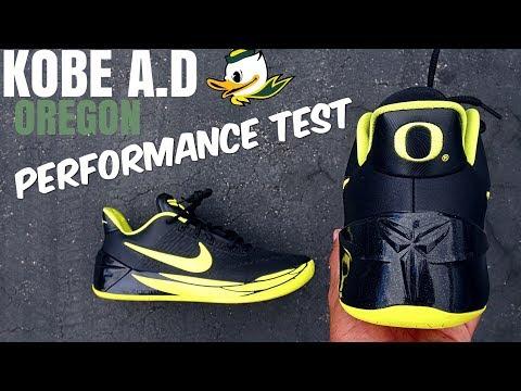 KOBE A.D OREGON PERFORMANCE TEST