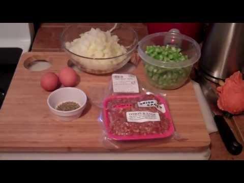 Sausage and Wild Rice stuffing / Dressing [Recipe]
