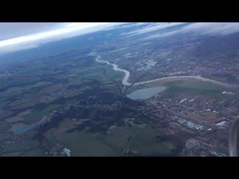 Take-off from Dresden Airport, Dresden, Saxony, Germany - 25th January, 2018