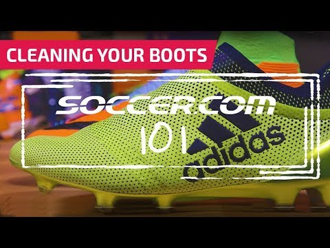 Soccer 101: Cleaning Your Boots