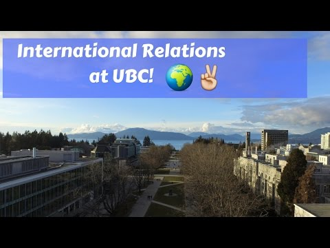 International Relations at UBC!