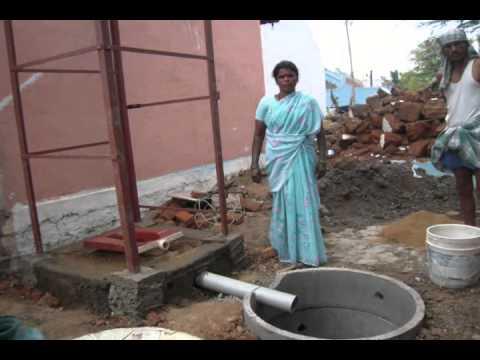 Low Cost Toilet Model