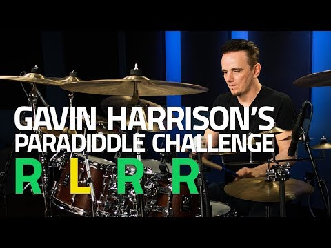 Gavin Harrison's Paradiddle Challenge - Drum Lesson (Drumeo)