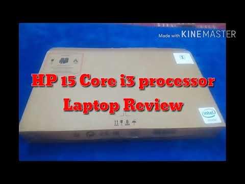 HP 15 core i3 processor Laptop unboxing