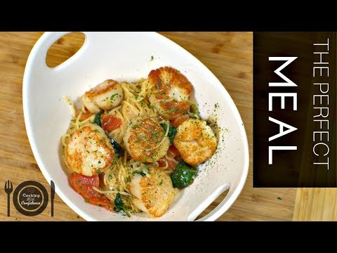 How to Make Seared Scallops with a white wine and cream sauce    Cooking With Confidence
